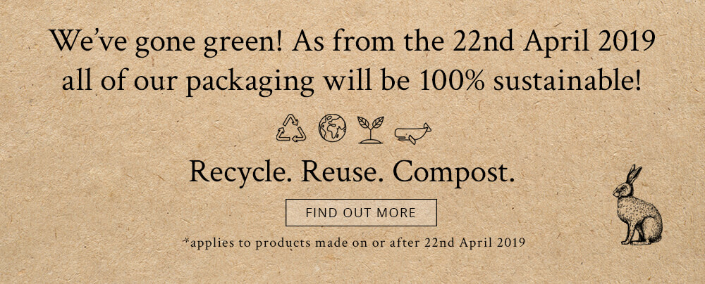 Pretty Little Treat Co now 100% Sustainable packaging. No waste