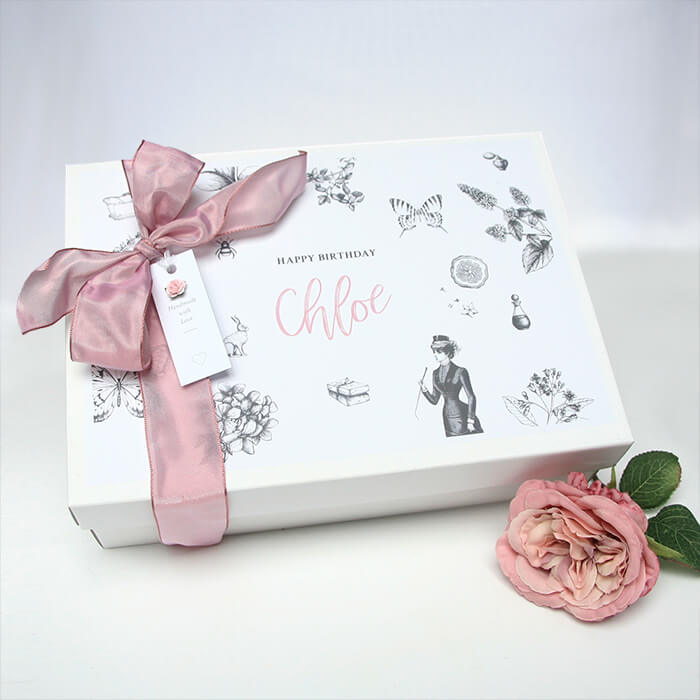 Personalised Birthday Large Gift Box Hamper Box Keepsake box