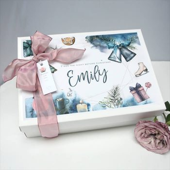 Pretty Little Treats Personalised Christmas Eve Box for her A4