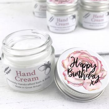 Happy Birthday Pretty Little Treat Hand Cream