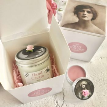 Pretty Little Treats Hand Cream Lip Balm Gift Set Gift for her 11