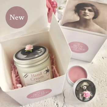 Pretty Little Treats Hand Cream Lip Balm Gift Set Gift for her 4