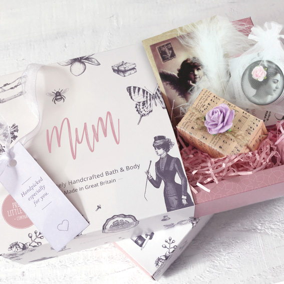 Pretty Little Mothers Day Treats Personalised Gift Set
