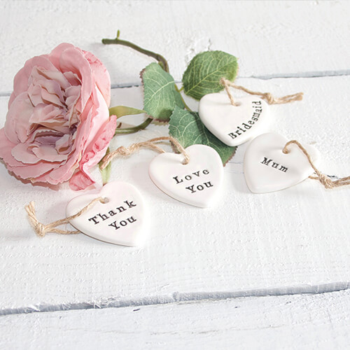 Pretty Little Gift Token Bridesmaid Love You Thank You Mum Gift