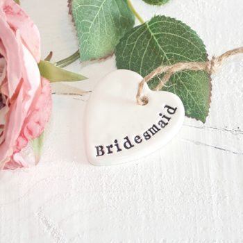 Pretty Little Gift Token Bridesmaid Gift