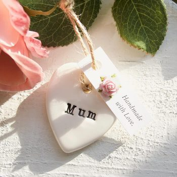 Handmade Mum Keepsake Heart for Mothers Day