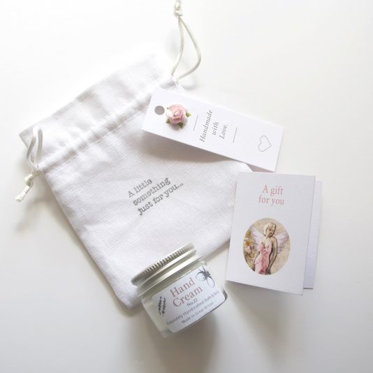 A cute hand cream gift for her
