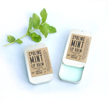 Cooling Mint Lip Balm Pretty Little treats Mens lipbalm natural lipbalm