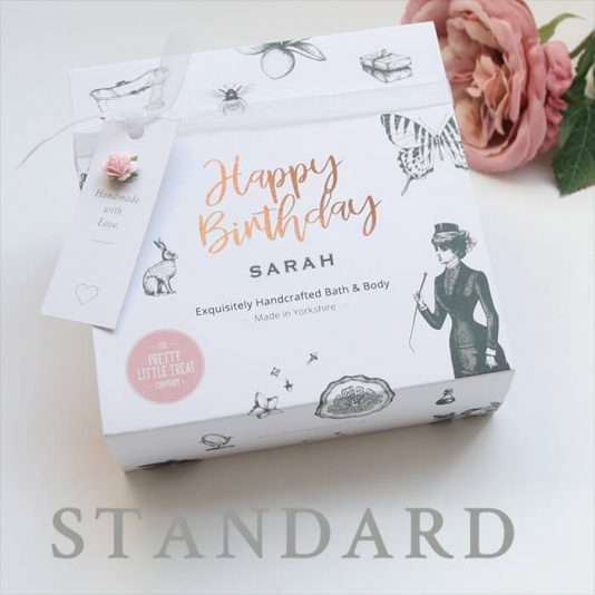 Happy Birthday Personalised Gift for her Pretty Little Treats Gift
