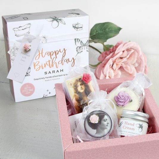Happy Birthday gift set for her Pretty little treats