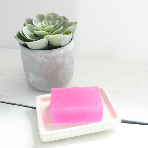 Soap SLS free Sensitive skin Pretty Little treat co Strawberry & Cream Soap