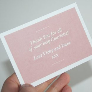 Thank You Personalised Gift Set Pretty Little Treat Co