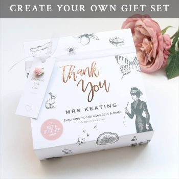 Thank You Teacher Personalised Gift Set Pretty Little Treat Co