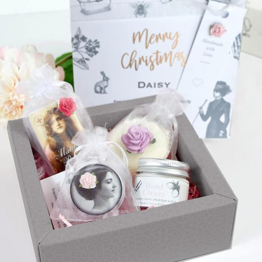 Merry Christmas Happy Christmas Personalised Gift Box