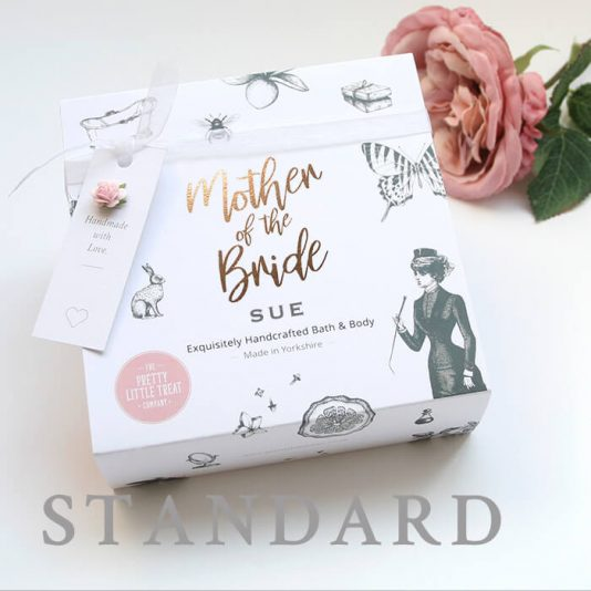 Mother of the Bride personalised pamper gift set